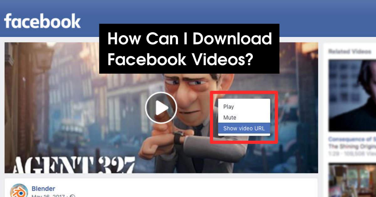Downloading Facebook Videos - ClipGrab